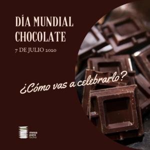 Comer chocolate negro