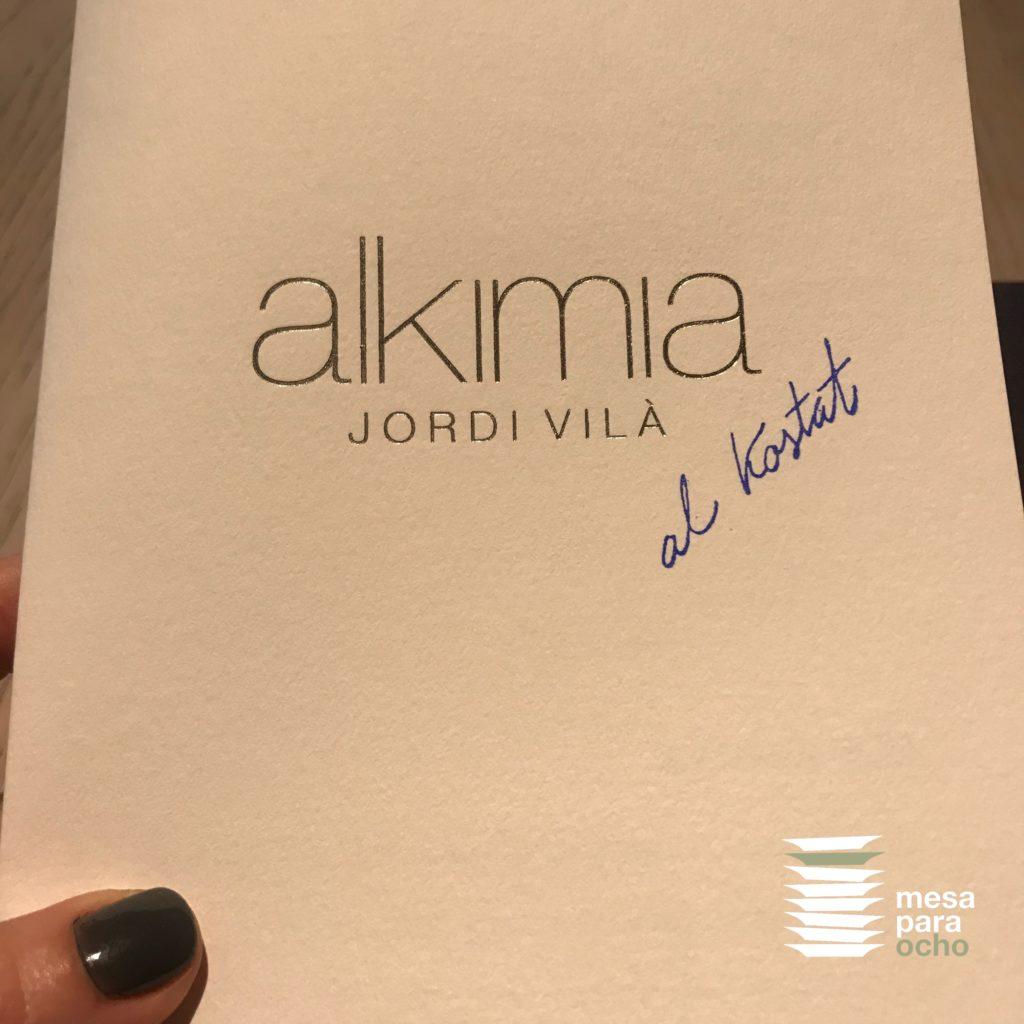Restaurante Al Kostat. Platillos populares con ADN Alkimia de Jordi Vilà
