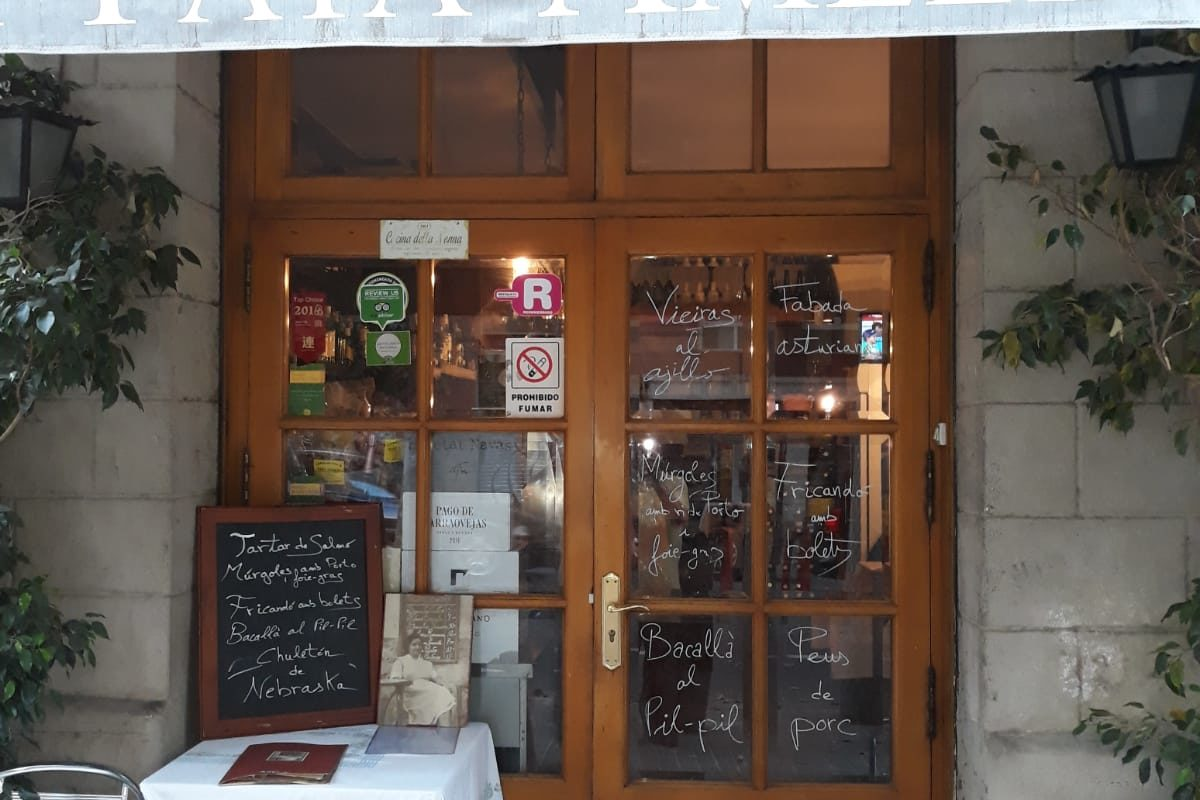 Restaurante La Yaya Amelia en Barcelona. Excelente Casa de comidas.