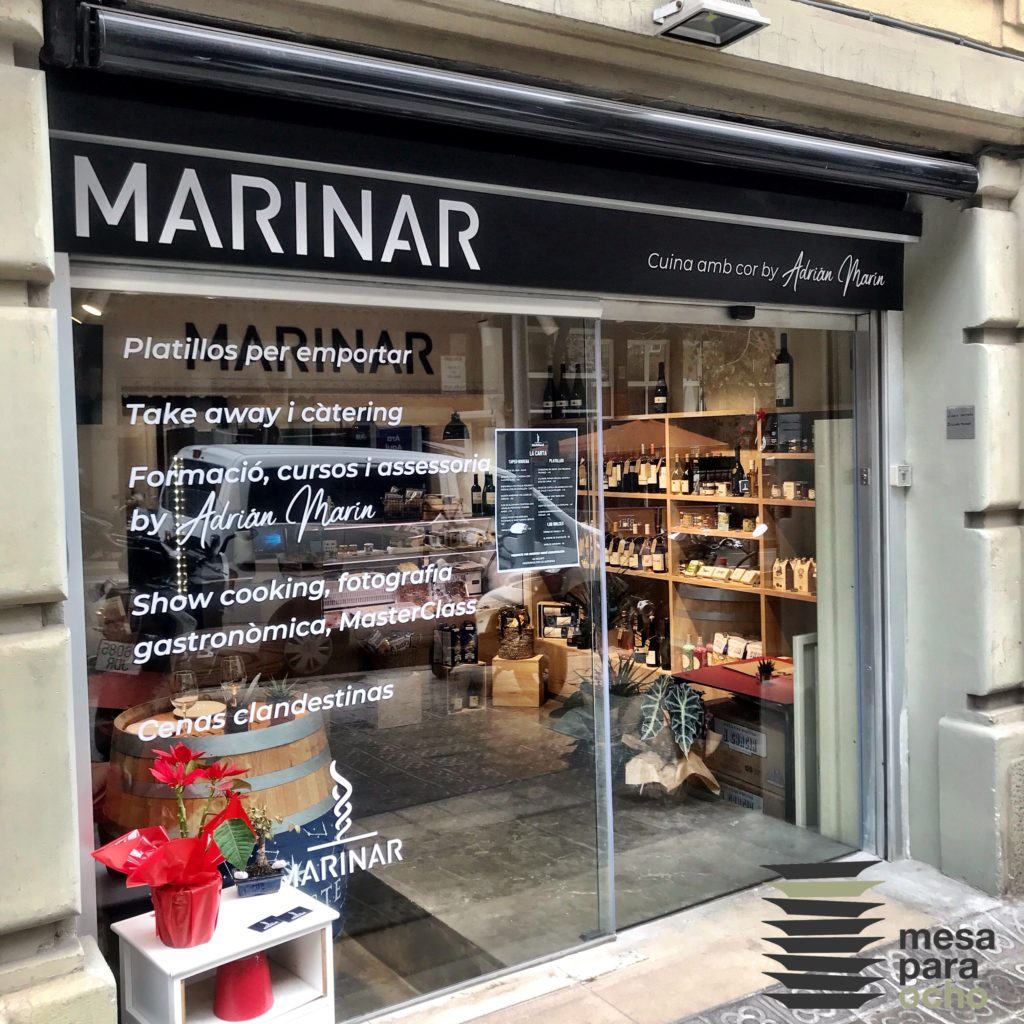 Marinar by Adrián Marín. Un espacio gastronómico (con mucho corazón).