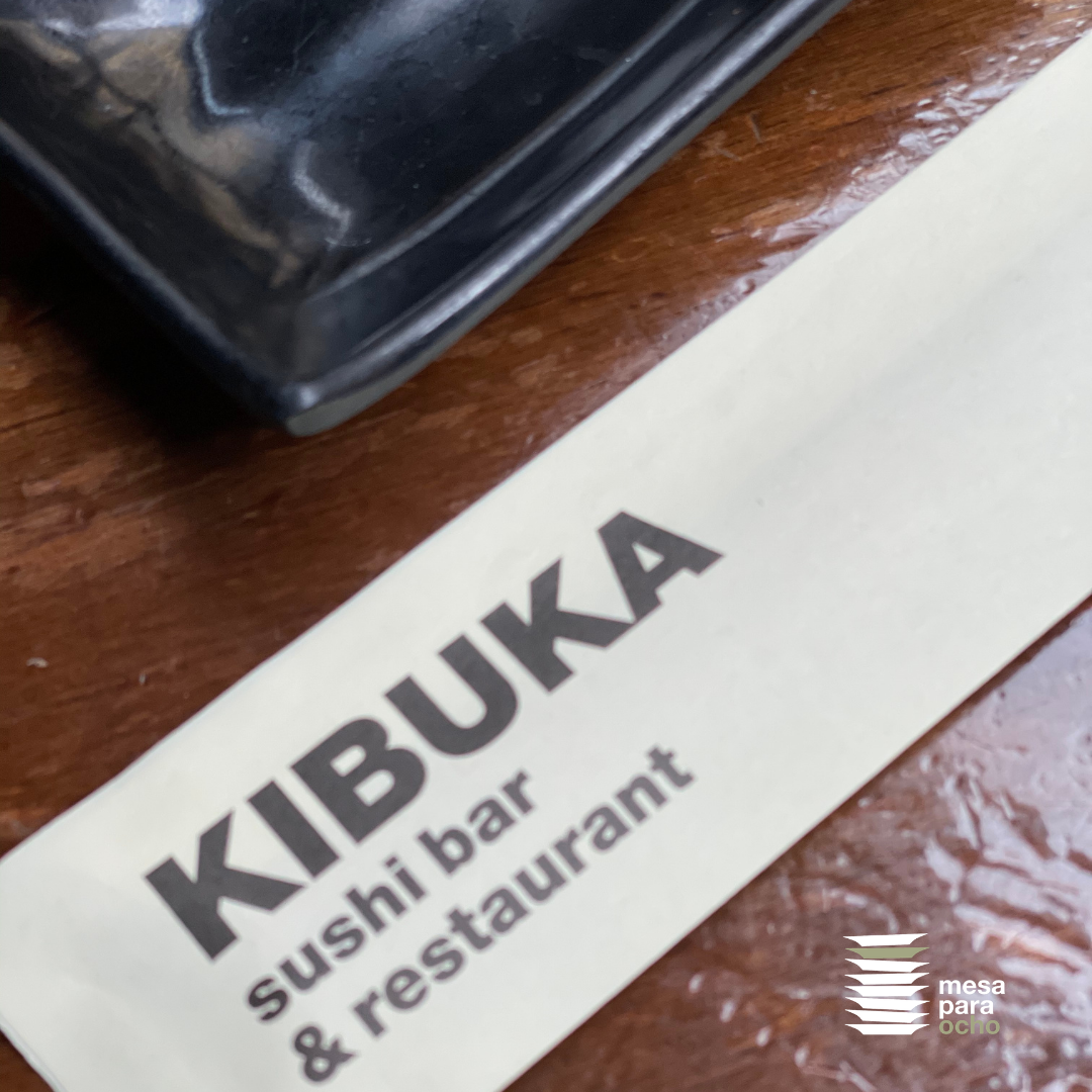 Restaurante Kibuka Goya. El mejor baile de maki y uramaki en Gràcia.